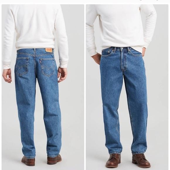Levi's Other - Levi's 560 loose fit taper leg cotton jeans 34x29